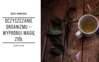 Oczyszczanie organizmu – wypróbuj magię ziół!