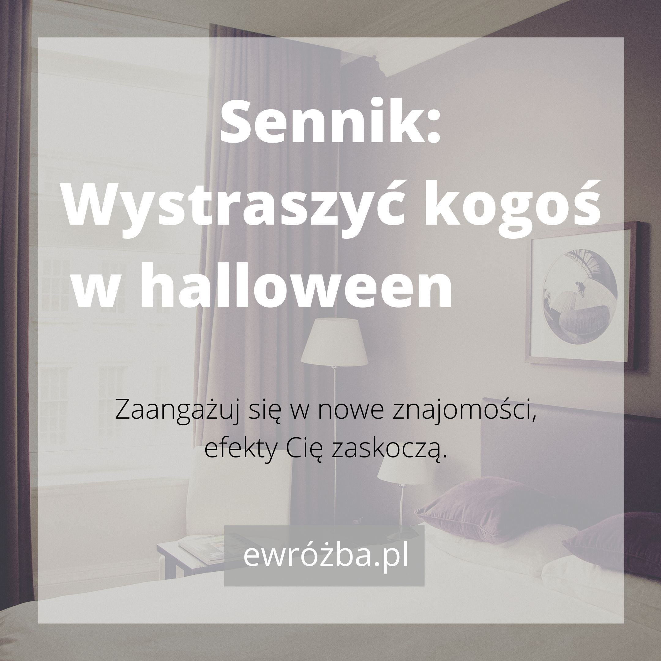 Sen o Halloween – znaczenie snu 1