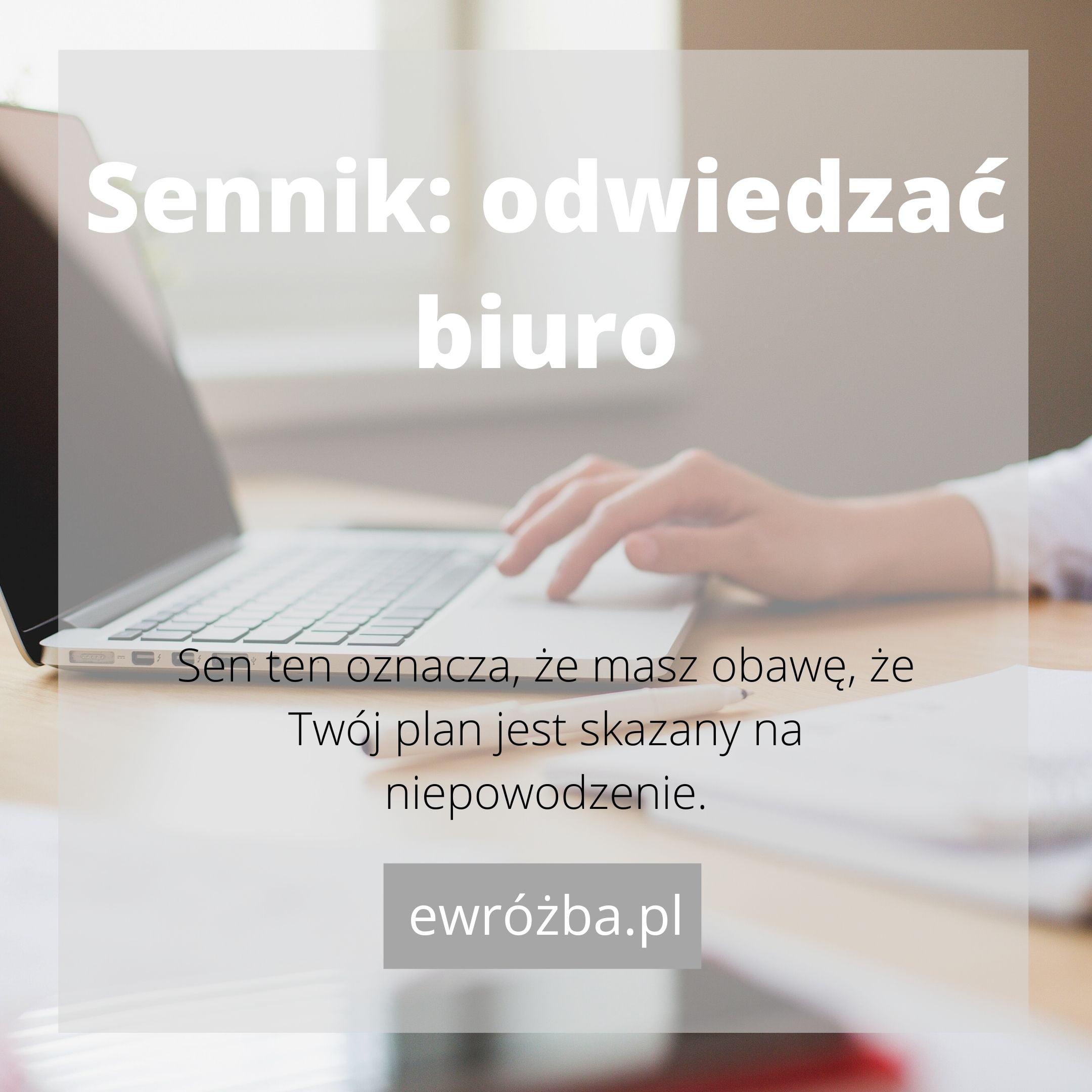 Biuro we śnie - znaczenie 1