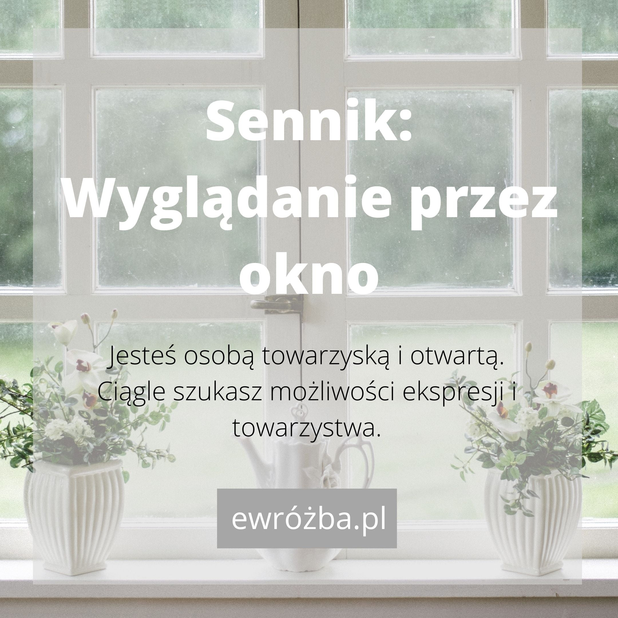 Okno w snach 1