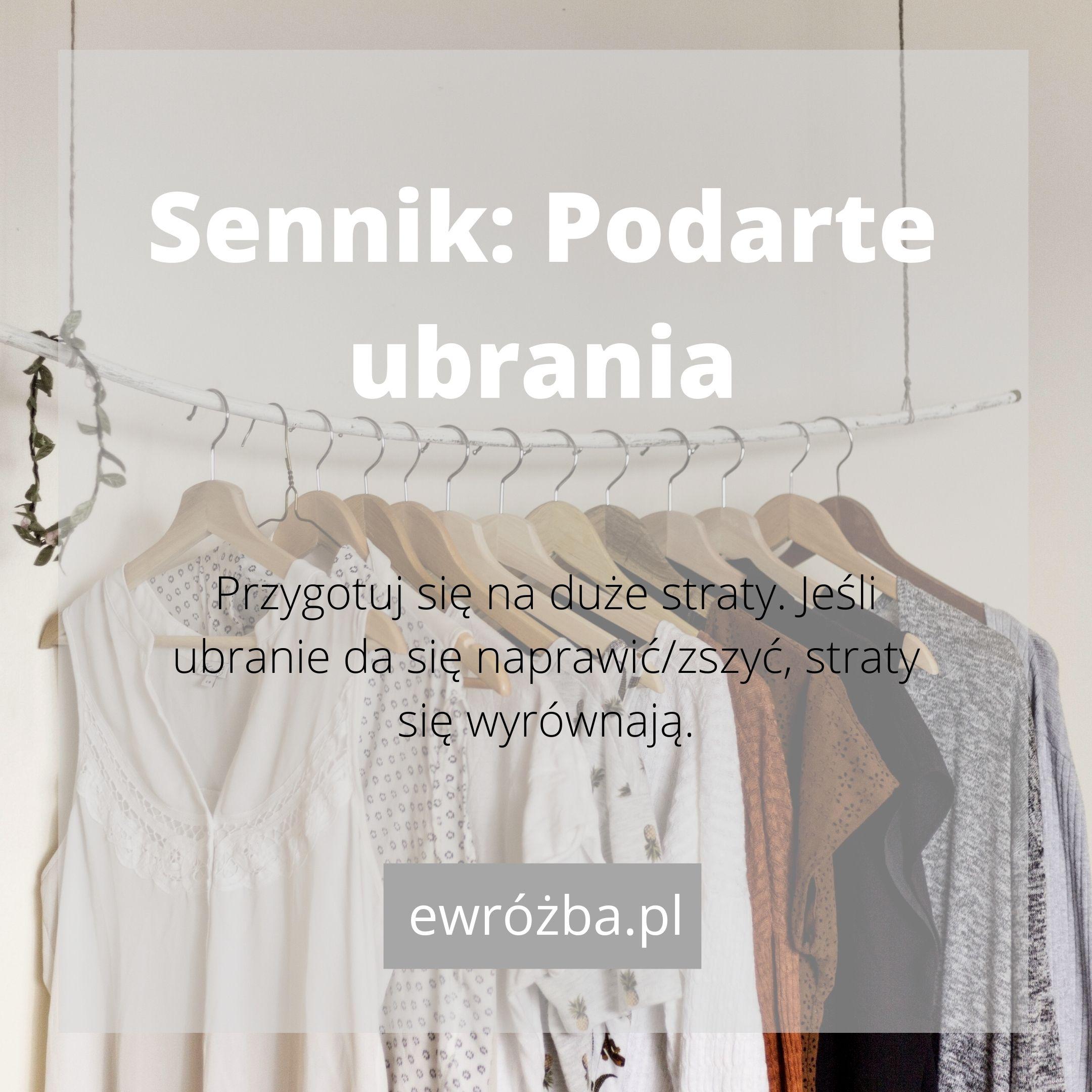 Ubrania w snach 1